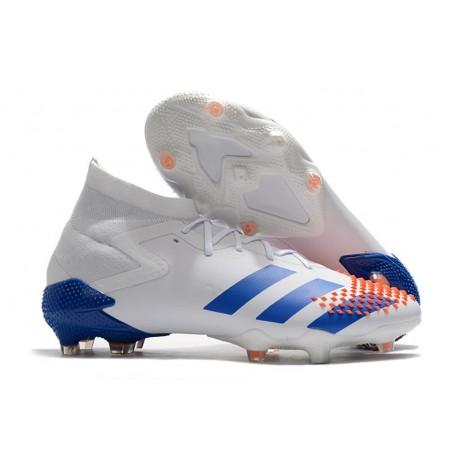 Buty piłkarskie adidas Predator Mutator 20.1 FG Biały Biały Pomarańczowy