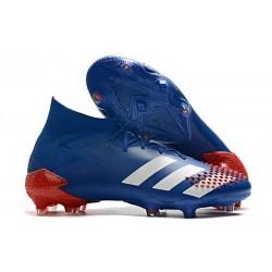Buty adidas Predator Mutator 20.1 FG Niebieski Biały Czerwony