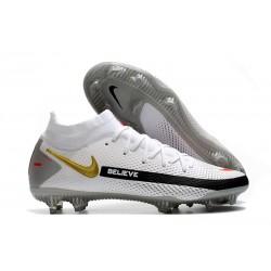 Nike Buty Phantom GT Elite DF FG Biały Czarny Złoto Czerwony