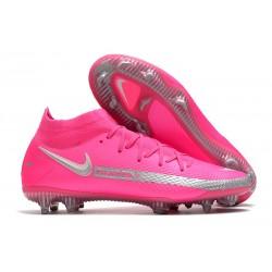 Buty piłkarskie Nike Phantom GT Elite Dynamic Fit FG - Różowy Czarny