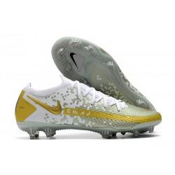 Buty Piłkarskie Nike Phantom GT Elite FG Biały Złoto
