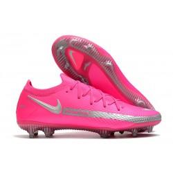 Buty Piłkarskie Nike Phantom GT Elite FG Różowy Srebro