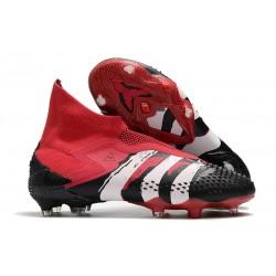Adidas Predator Mutator 20+ FG - Czarny Czerwony Biały