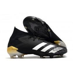 Buty piłkarskie adidas Predator Mutator 20.1 FG Czarny Biały Złoto