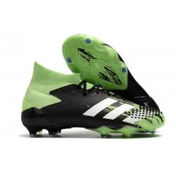 Buty piłkarskie adidas Predator Mutator 20.1 FG Czarny Biały Zielony