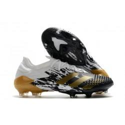 adidas Nowy Predator Mutator 20.1 FG Biały Czarny Złoty