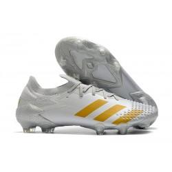 adidas Nowy Predator Mutator 20.1 FG Biały Złoto