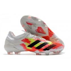 adidas Nowy Predator Mutator 20.1 FG Biały Pomarańczowy Czarny