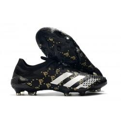 adidas Nowy Predator Mutator 20.1 FG Paul Pogba Czarny Biały Złoto
