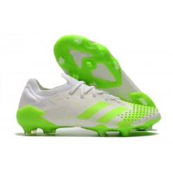 adidas Nowy Predator Mutator 20.1 FG Biały Zielony