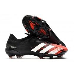 adidas Nowy Predator Mutator 20.1 FG Czarny Biały Czerwony