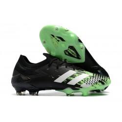 adidas Nowy Predator Mutator 20.1 FG Czarny Zielony Biały