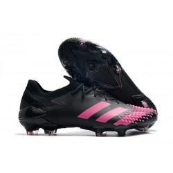 adidas Nowy Predator Mutator 20.1 FG Czarny Różowy