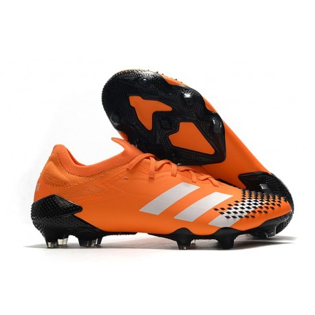 adidas Nowy Predator Mutator 20.1 FG Pomarańczowy Biały Czarny