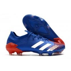 adidas Nowy Predator Mutator 20.1 FG Niebieski Biały Czerwony