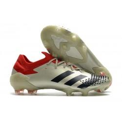 adidas Nowy Predator Mutator 20.1 FG Biały Czarny Czerwony