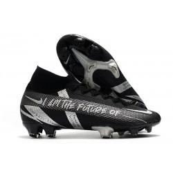 Nike Mercurial Superfly 7 Elite DF FG Future Czarny Srebro