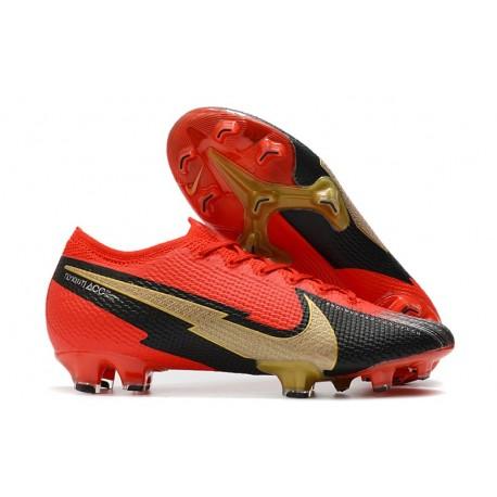Nike Buty Mercurial Vapor XIII 360 Elite FG Czerwony Czarny Złoty