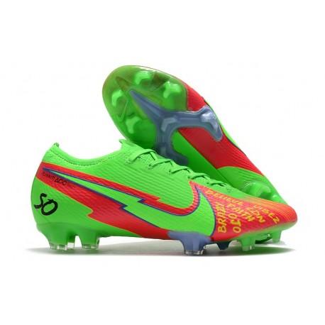 Nike Buty Mercurial Vapor XIII 360 Elite FG Zielony Czerwony