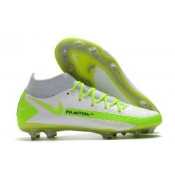 Nike Buty Phantom GT Elite DF FG Biały Zielony
