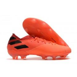adidas Nemeziz 19.1 FG Buty - Pomarańczowy Czarny