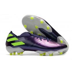 adidas Nemeziz 19.1 FG Buty - Fioletowy Zielony