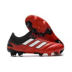 Korki Pilkarskie adidas Copa 20.1 FG Czarny Czerwony Biały