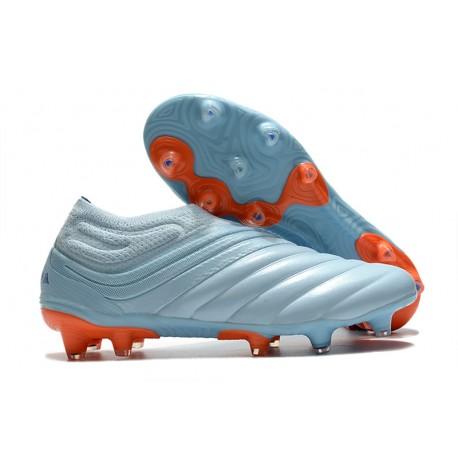 Buty adidas Copa 20+ FG - Niebieski Pomarańczowy