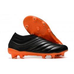 Buty adidas Copa 20+ FG - Czerń Pomarańczowy