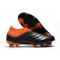Buty adidas Copa 20+ FG - Pomarańczowy Czerń