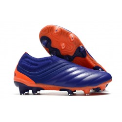 Buty adidas Copa 20+ FG - Fioletowy Zielony