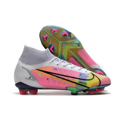 Buty Piłkarskie Nike Mercurial Superfly 8 Elite FG Biały Wielobarwność