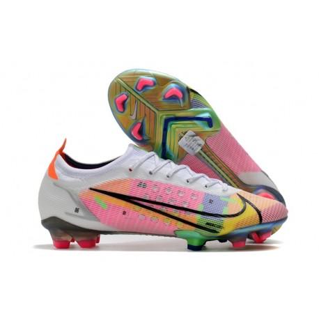 Buty piłkarskie Nike Mercurial Vapor 14 Elite FG Biały Wielobarwność
