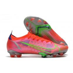 Buty piłkarskie Nike Mercurial Vapor 14 Elite FG Czerwony Srebro Zielony
