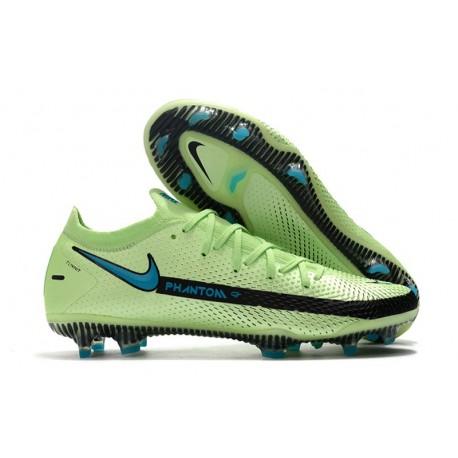 Buty Piłkarskie Nike Phantom GT Elite FG Zielony Czarny Niebieski