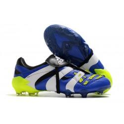 Adidas Buty Korki Predator Accelerator FG Niebieski Biały Zawistny