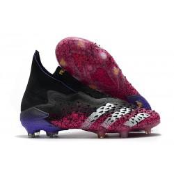 Buty Piłkarskie adidas Predator Freak+ FG Czarny Czarny Różowy