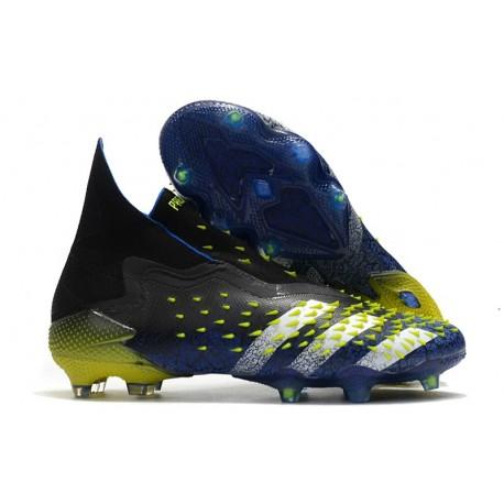 Buty adidas Predator Freak+ FG Niebieski Czarny Biały Zawistny