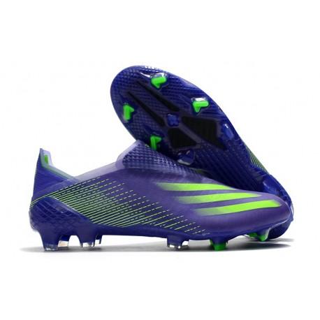 Buty Piłkarskie adidas X Ghosted + FG Fioletowy Zielony