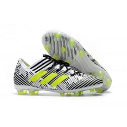 BUTY adidas NEMEZIZ MESSI 17.1 FG - Biały Czarny Zawistny