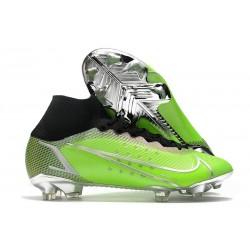 Buty Nike Mercurial Superfly 8 Elite FG Zielony Czarny Srebro