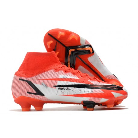 Nike Mercurial Superfly VIII Elite CR7 FG Biały Czerwony Czarny