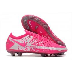 Buty Piłkarskie Nike Phantom GT Elite FG Różowy Biały