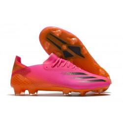 Buty Piłkarskie adidas X Ghosted.1 FG Różowy Czarny Pomarańczowy