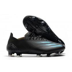 Buty Piłkarskie adidas X Ghosted.1 FG Czarny Niebieski Szary
