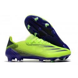 Buty Piłkarskie adidas X Ghosted.1 FG Zielony Fioletowy