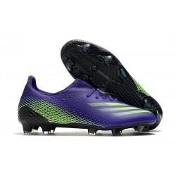 Buty Piłkarskie adidas X Ghosted.1 FG Fioletowy Zielony