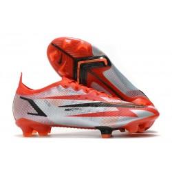 Buty piłkarskie Nike Mercurial Vapor 14 Elite FG Czerwony Biały Czarny