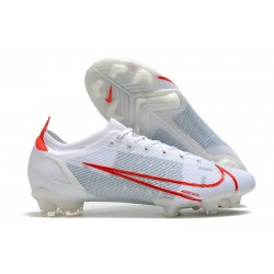 Nike Mercurial Vapor XIV Elite FG Biały Czerwony