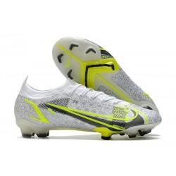 Buty piłkarskie Nike Mercurial Vapor 14 Elite FG Biały Czarny Zielony
